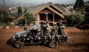 刚果共和国士兵